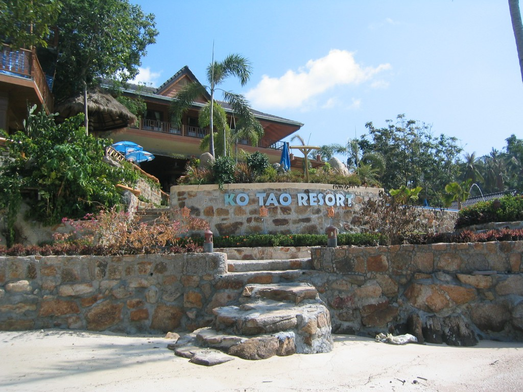 Koh Tao resort beach side