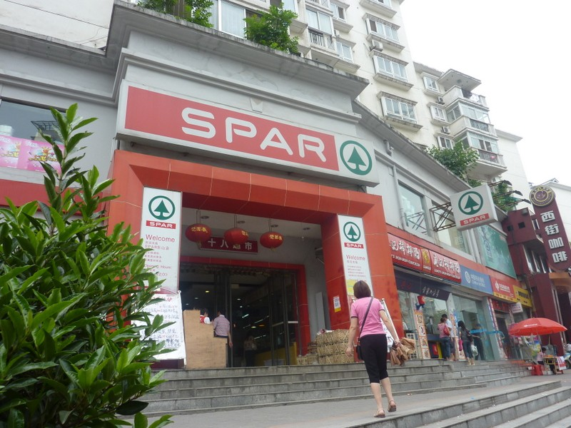 The Spar Peter's Work deep in China ! LolL